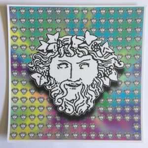 Genesis'88 | Acid House Blotter Art